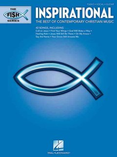 Inspirational the best of contemporary Christian music : piano, vocal, guitar cover image