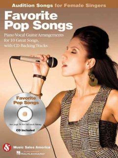 Favorite pop songs [piano/vocal arrangements for 10 great songs, with CD backing tracks] cover image