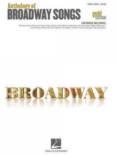 Broadway anthology of Broadway songs : piano, vocal, guitar cover image