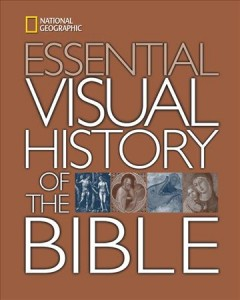 National Geographic essential visual history of the Bible cover image