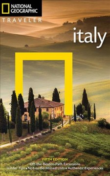 National Geographic traveler. Italy cover image