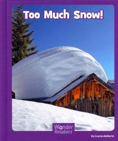 Too much snow! cover image