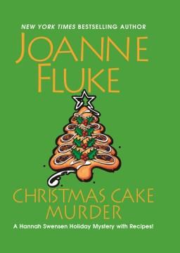 Christmas cake murder cover image