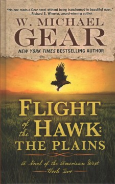 Flight of the hawk: the plains cover image