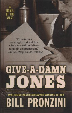 Give-a-damn Jones cover image