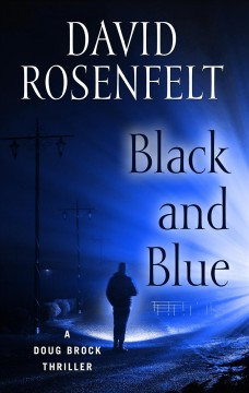 Black and blue cover image