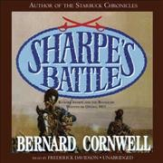 Sharpe's battle Richard Sharpe and the Battle of Fuentes de Oñoro, May 1811 cover image