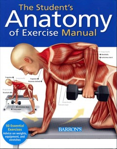 The student's anatomy of exercise manual cover image