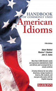 Handbook of commonly used American idioms cover image