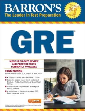 Barron's GRE cover image