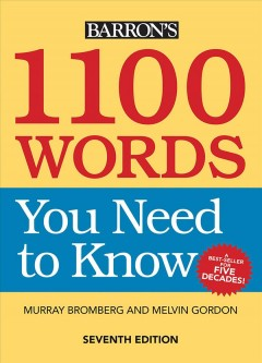 1100 words you need to know cover image