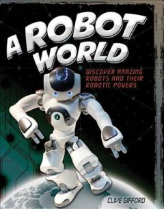 A robot world cover image