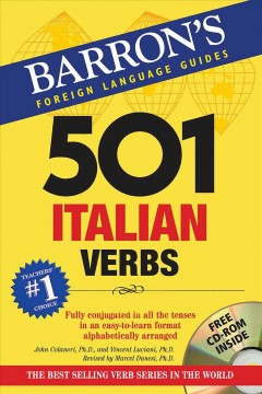 501 Italian verbs cover image