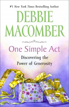 One simple act : discovering the power of generosity cover image