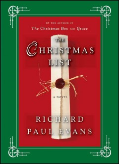 The Christmas list cover image