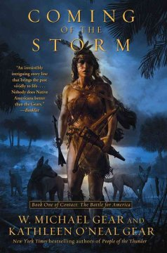 Coming of the storm cover image