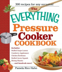 The everything pressure cooker cookbook cover image