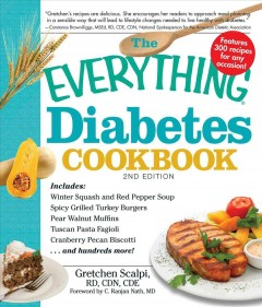 The everything diabetes cookbook cover image
