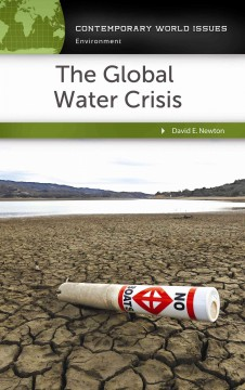The global water crisis : a reference handbook cover image
