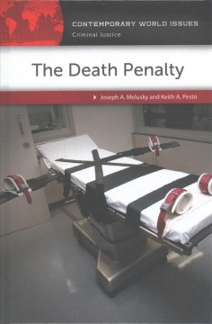 The death penalty : a reference handbook cover image