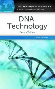 DNA technology : a reference handbook cover image