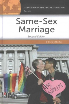 Same-sex marriage : a reference handbook cover image