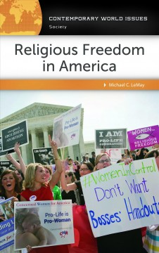 Religious freedom in America : a reference handbook cover image