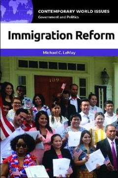 Immigration reform : a reference handbook cover image