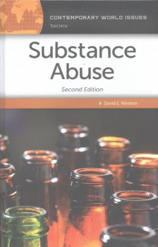 Substance abuse : a reference handbook cover image