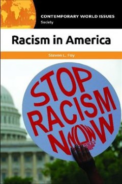 Racism in America : a reference handbook cover image