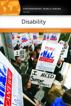 Disability : a reference handbook cover image