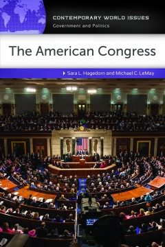 The American Congress : a reference handbook cover image