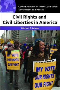 Civil rights and civil liberties in America : a reference handbook cover image