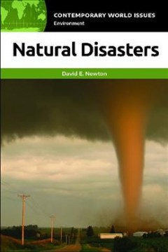Natural disasters : a reference handbook cover image