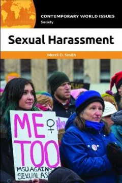 Sexual harassment : a reference handbook cover image