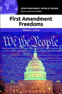 First amendment freedoms : a reference handbook cover image