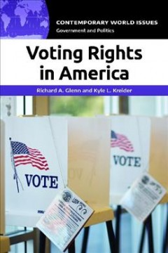 Voting rights in America : a reference handbook cover image