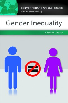 Gender inequality : a reference handbook cover image