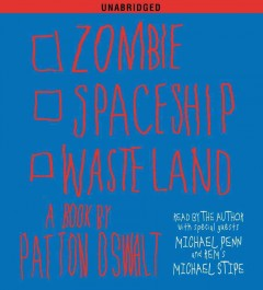 Zombie spaceship wasteland a book cover image