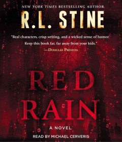 Red rain a novel cover image