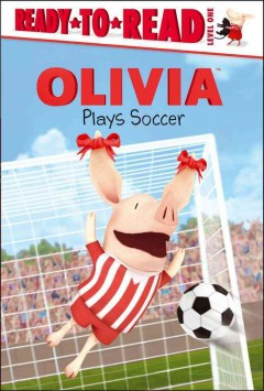 Olivia plays soccer cover image