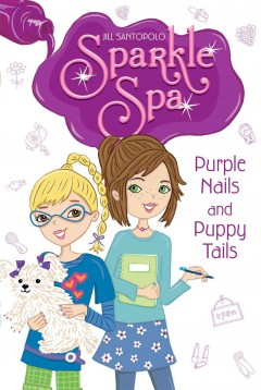 Purple nails and puppy tails cover image