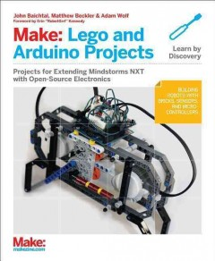 Make-- LEGO and Arduino projects cover image