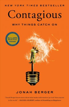 Contagious : why things catch on cover image
