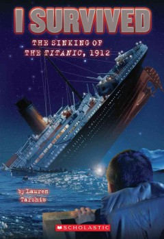 The sinking of the Titanic, 1912 cover image