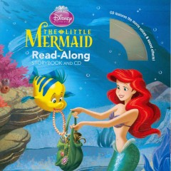 The little mermaid : read-along storybook and CD cover image