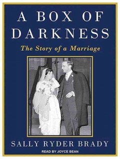 A box of darkness the story of a marriage cover image