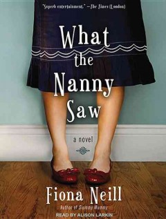What the nanny saw [a novel] cover image