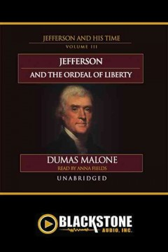 Thomas jefferson and his times, vol. 3 cover image
