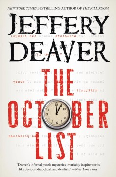 The October list cover image